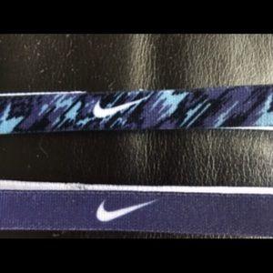 Nike Purple and Black Headbands